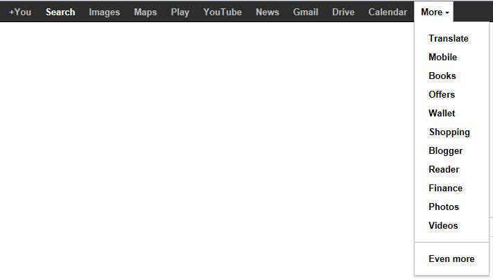 This is what you see when you go to a Google search page in Internet Explorer.